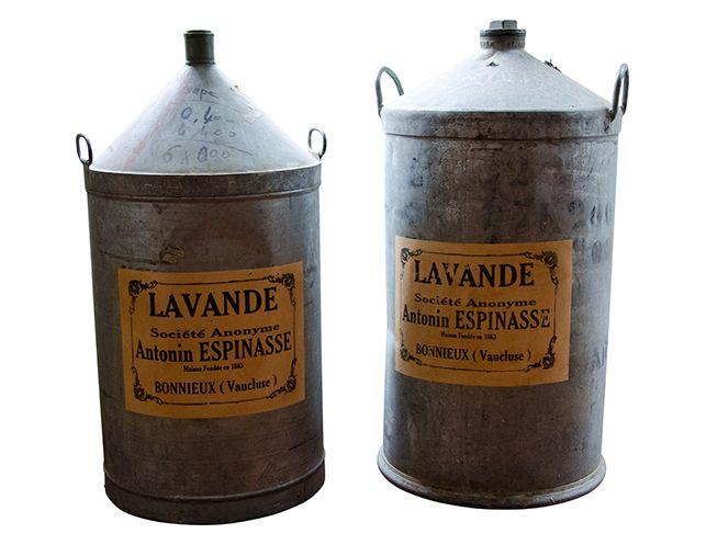 Antique French Lavendar Oil Drums | The  Local Vault