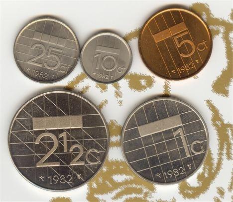 Gulden tijd - stuiver - dubbeltje - kwartje - gulden - knaak