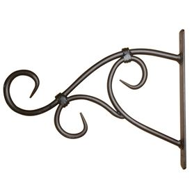 $8.44 (x2) 6.88-in Scroll Black Plant Hook Item #: 225079 |  Model #: WK52025. Height (Inches) 9.5. For Lanterns over mantel & signs in hallway