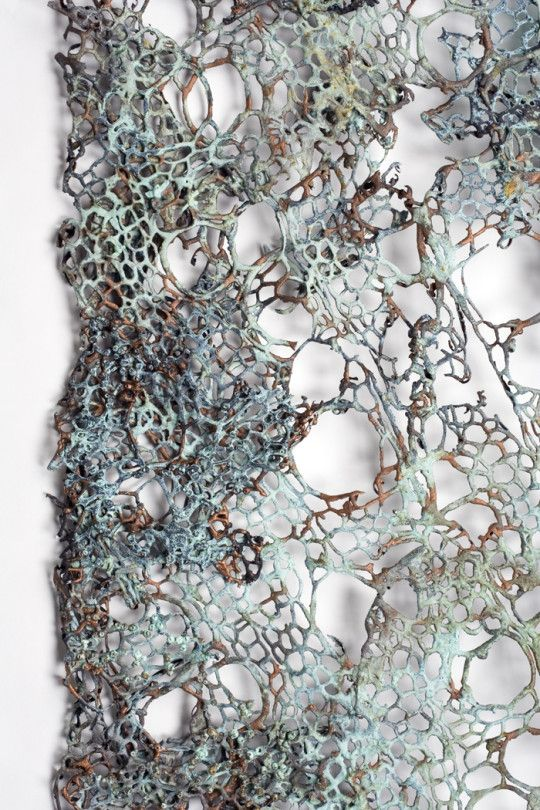 Lace Forms detail 540x810 Lesley Richmond: The intersection between craft & art