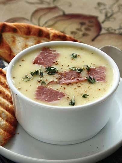Kuru etli patates çorbası Tarifi - Türk Mutfağı Yemekleri - Yemek Tarifleri