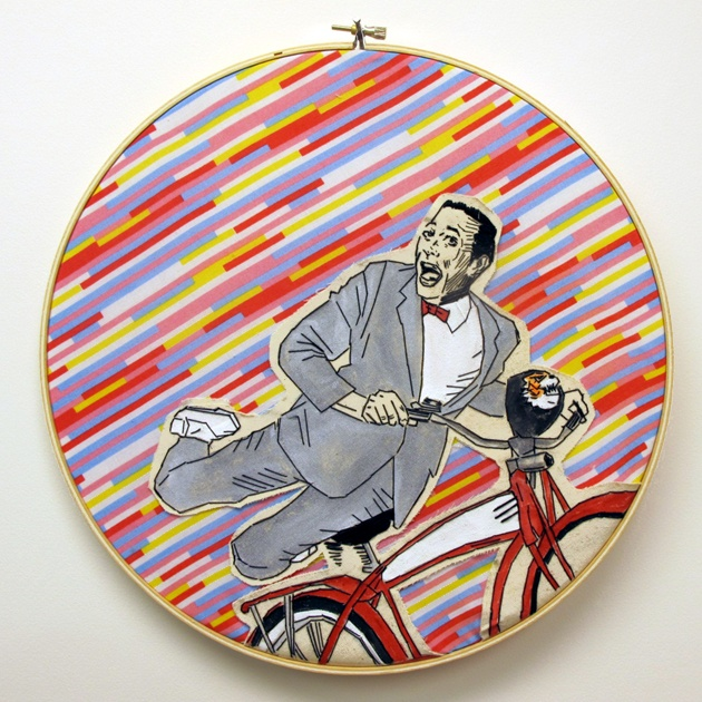 I MUST HAVE THIS!!: Bike, This Is Awesome, Love Affair, Lucky Jackson, Pee Wee Herman, Hoop Art, Art Beautiful, Portraits, Products