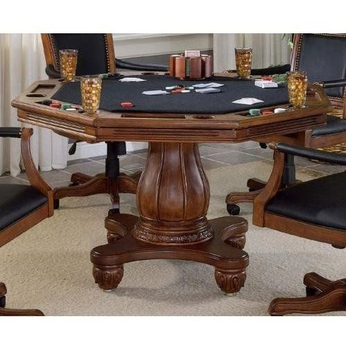 Free Nationwide Shipping From Family Leisure On The Kingston Game Table Set By Hillsdale Furniture All Poker Tables Come With