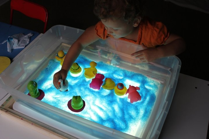Salt Water Lamp Research Paper : Light table ideas: colored Epsom salt QUALITY TIME WITH KIDDOS Pi?