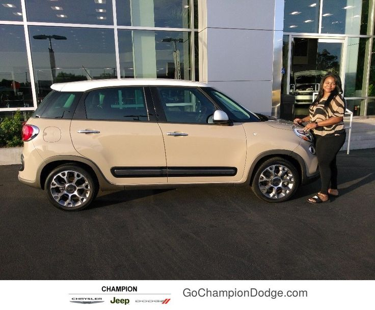 Queana Davis's  new vehicle from Alfonso Tachiquin at Champion Chrysler Jeep Dodge Ram