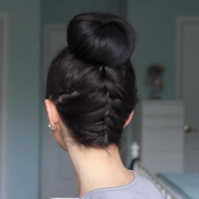 Bijzondere haarknot