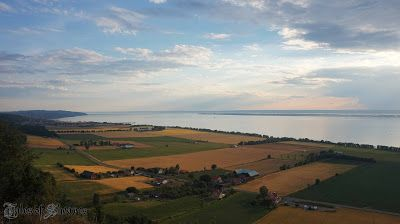 Overlooking the village of Gränna, Sweden from Brahehus medieval fortress #talesofsheaves