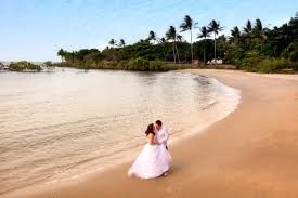 Lots of wedings and photos happen on Four Mile Beach Port Douglas