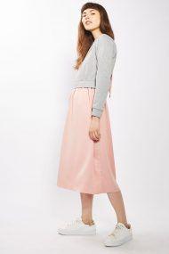 Topshop Dress Grey-Pink Hybrid Back