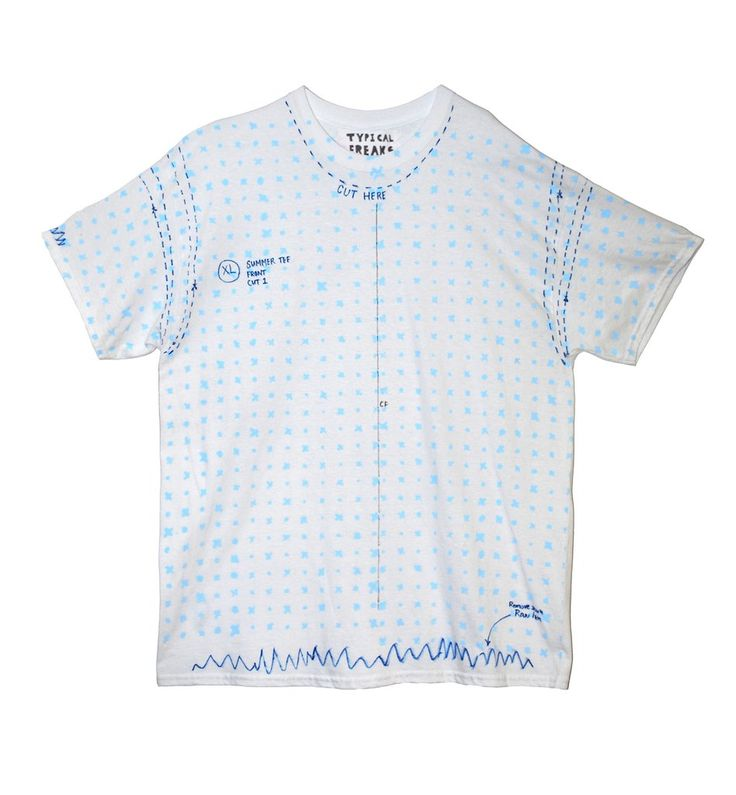 Pattern Paper Shirt