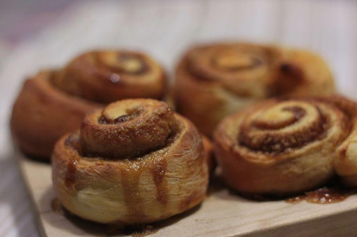 Fazmumblog.come: Cinnamon Rolls ou Rolos de Canela