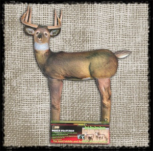 HAIRLite Deer Decoy (Converts from Doe to Buck) *Motion Ears and Tail* Trick those leary bucks into bow range with these easy to setup and lightweight deer decoy. By far the lightest and easiest to carry into and out of the field.