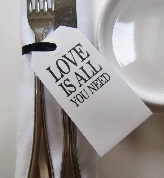 Wedding Table Decor-Wedding Place Cards