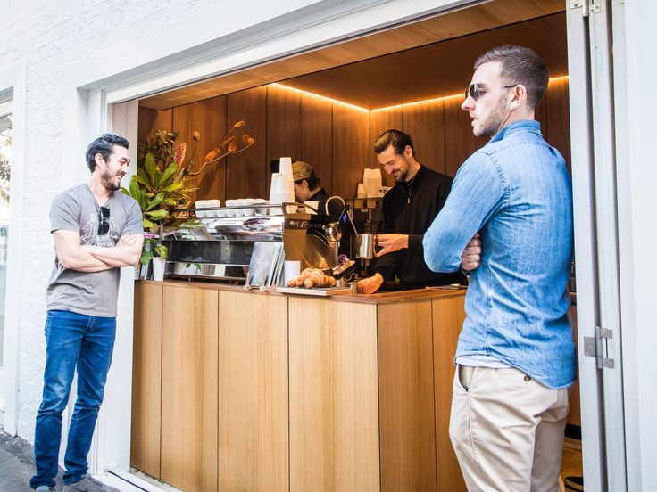 Coffee is serious business at this Surry Hills café