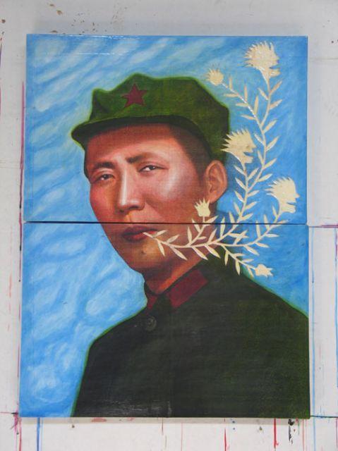 Artist Ren Rong (Chinese: 1960)
