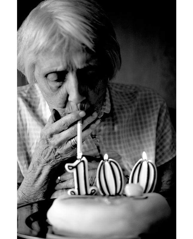 Bjørn Wad's Smoking Granny