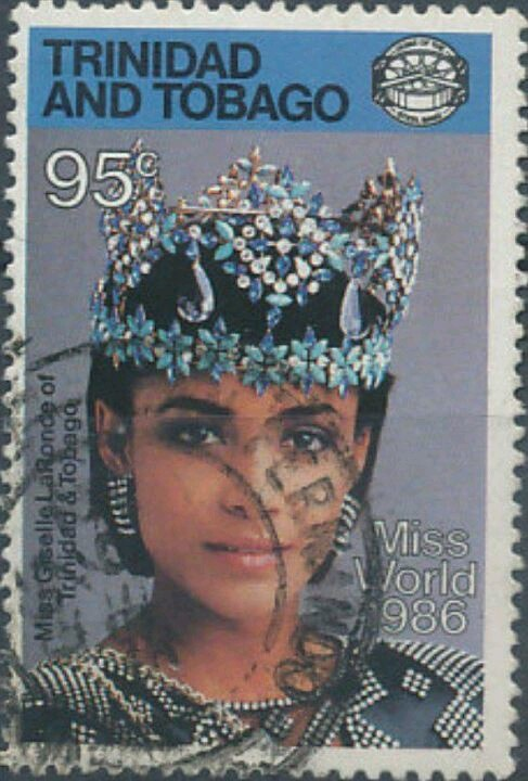 Trinidad and Tobago first Miss World winner.                                                                                                                                                                                 More