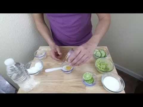 Mascarillas faciles para piel grasosa en 15 minutos.