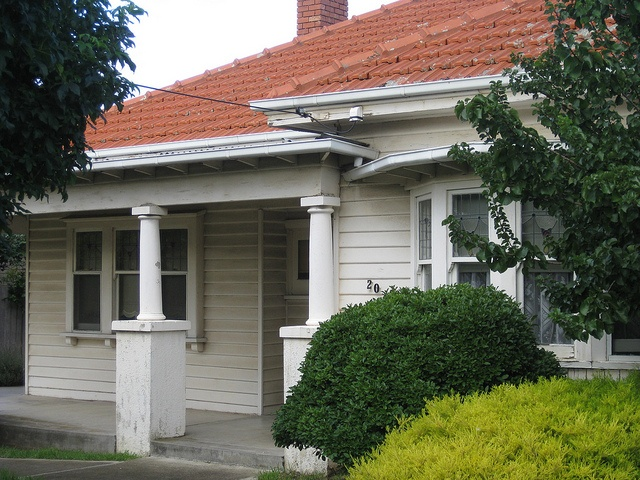 A Weatherboard Edwardian Villa Coburg House Colors Exterior House Colors And Brunswick House