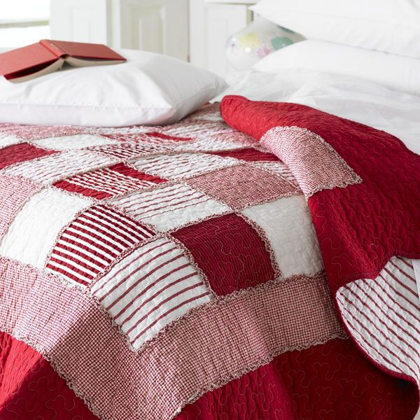 This is gorgeous, I love American patch-work quilts. Any suggestions where I can buy a good one for myself??
