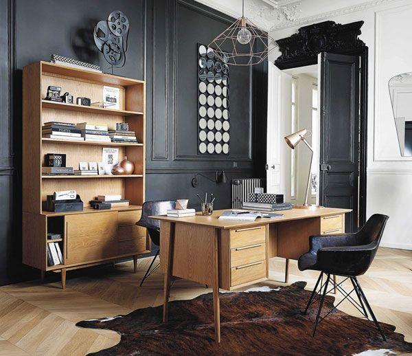 Midcentury-style Portobello bookcase at Maisons du Monde
