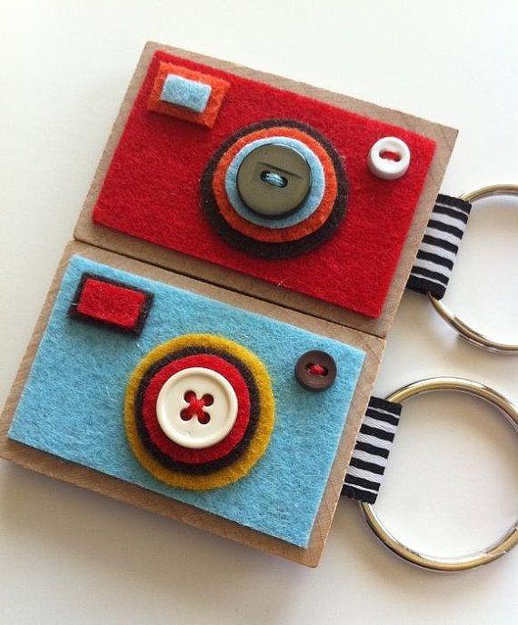 Camera KeychainsThe ECO BOXY Your choice by claraiuribe on Etsy