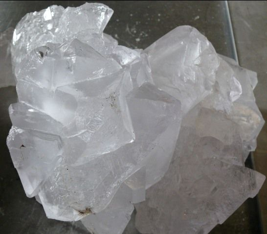 Potassium Alum ~ a naturally occurring mineral crystal. I love my all natural deodorant!!!! Straight from the desert!
