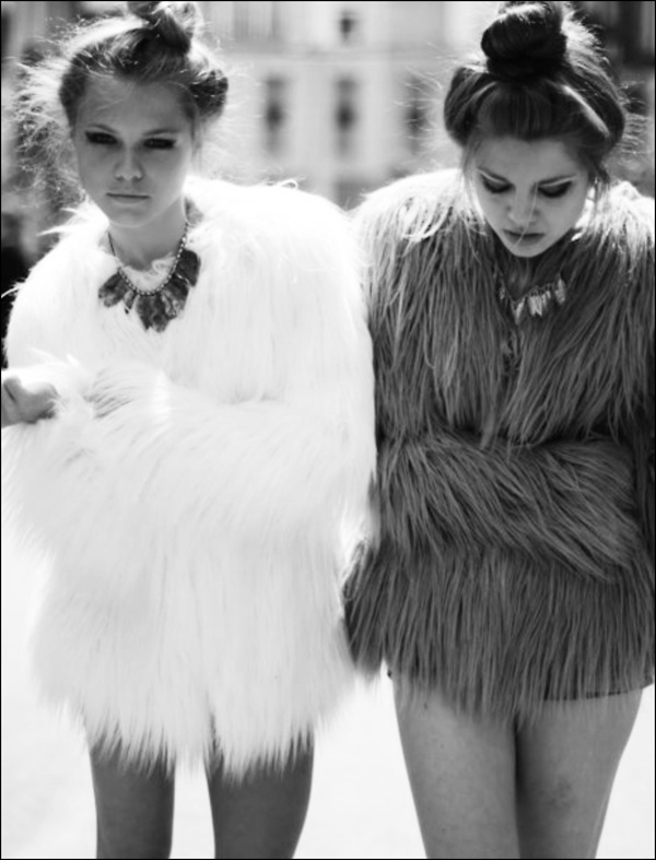 Mid-Summer Night's Dream - Matching in Fur #trending #look #outfit #glam #fashion #fur #winter #Fall #style #comfort #glamorous