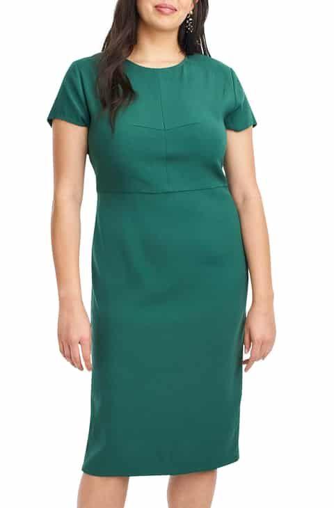 8303572264b0c Save money on Universal Standard for J.Crew Stretch Twill Sheath Dress  (Regular   Plus Size)