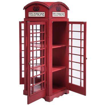 Τηλεφωνικος θάλαμος London απο ξύλο και γυαλί. Ποιος είναι έτοιμος να νιώσει λίγη βρετανική αύρα στον χώρο του;
