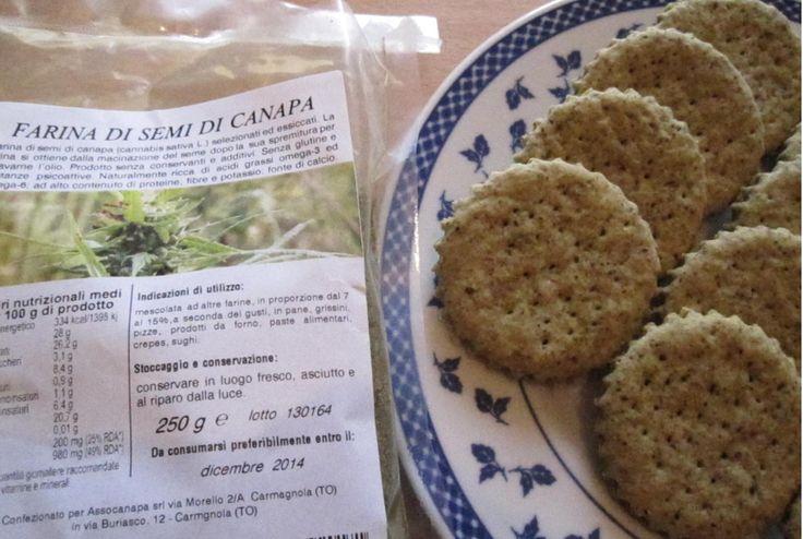 Biscottini Salati e Grissini alla Canapa Sativa