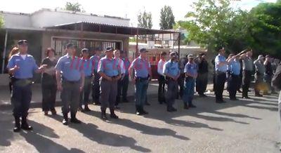 Piedra del Aguila.-: Por primera vez interpretaron el himno nacional en...