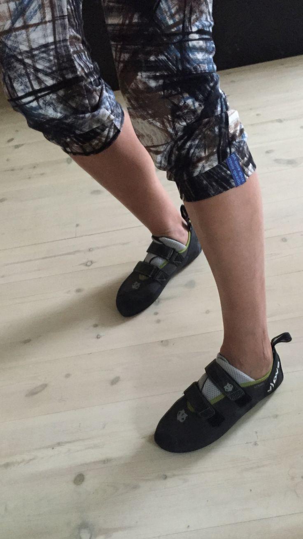 Climbing capris in soft jersey, vuono design by nina dirix
