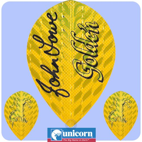 Dart Flights - Unicorn Authentic - Authentic 75 - Xtra Pear - John Lowe - http://www.dartscorner.co.uk/product_info.php?cPath=6_832_380&products_id=2603