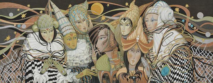 Талантливая семья художников Процив - Ярмарка Мастеров - ручная работа, handmade