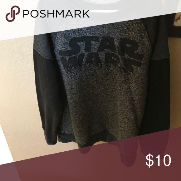 Boys Stars Wars Sweatshirt Sz Large Boys Large Star Wars sweatshirt. Only worn a couple times. Great condition. Star Wars Shirts & Tops Sweatshirts & Hoodies