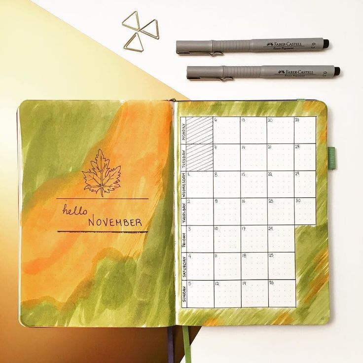 Hello November   This is the #monthlyspread squared and vertical! It suits me very well and I keep using this layout! As for the colours I am using a mix of olive and orange dyes for this month! Happy November everyone!2 months until 2018 lets finish strong!  #BujonCoffee #GreekBujo #BujoGR #BujoGreece #BulletJournalGreece #bulletjournal #bulletjournaljunkies #bulletjournaling #bulletjournallove #bulletjournalcommunity #artjournalpage #bujoinspo #bujogirl  #bulletjournalcollection #bujo…
