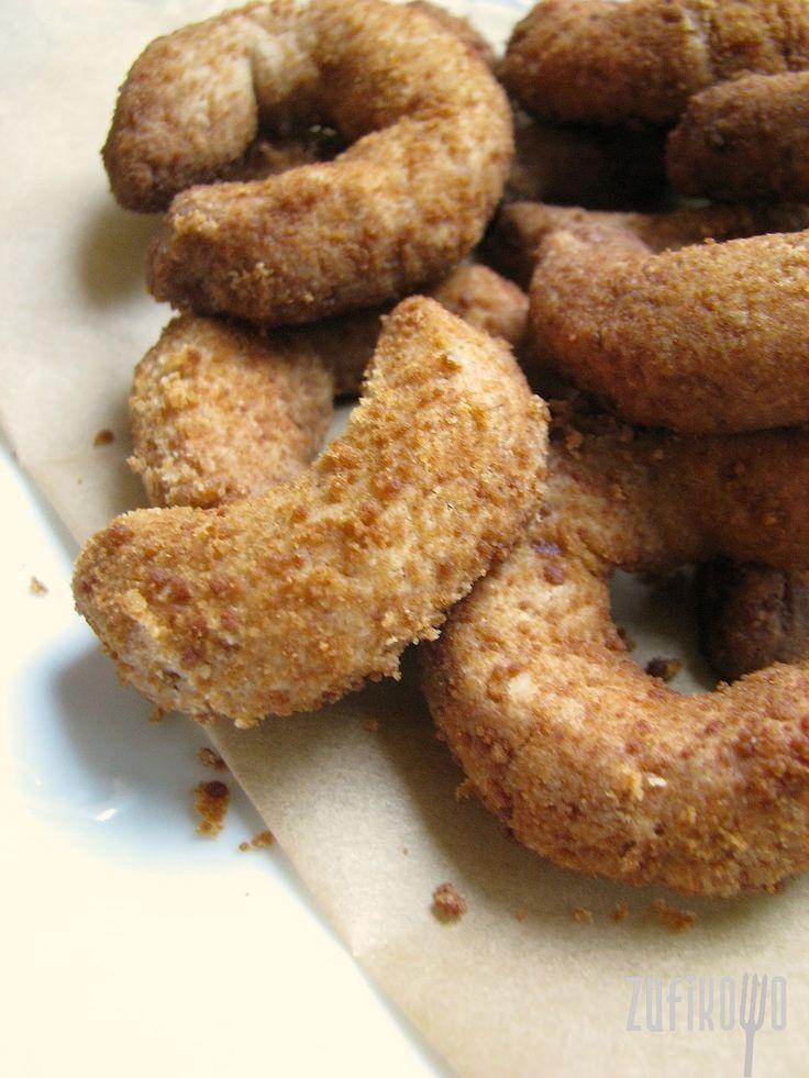 zufikowo: Bardzo kokosowe kruche ciasteczka ( z mąki kokosowej, bezglutenowe, wegańskie )
