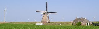 poldermolen de Goliath / Roodeschool / Eemshaven