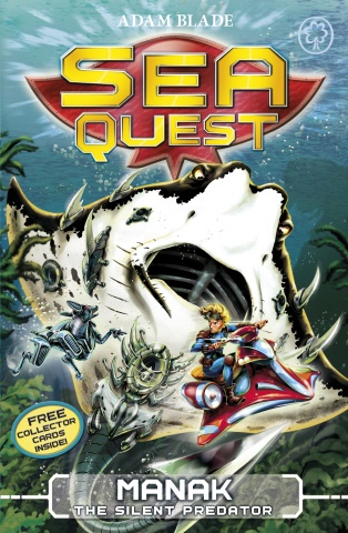 Deep in the water lurks a new breed of Beast.    A deadly new Robobeasts has been sent to battle Max and his brave companions! Manak the Silent Predator glides through the ocean with one thing on its mind - kill them at all costs! But Max must survive, because if he fails, the planet Nemos is doomed to destruction...    Dive into Sea Quest and live the adventure!