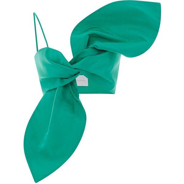 Filipa Bralette Top | Moda Operandi ($565) ❤ liked on Polyvore featuring tops, sweetheart top, sweetheart neckline tops, bralet tops, bralet crop top and bralette tops