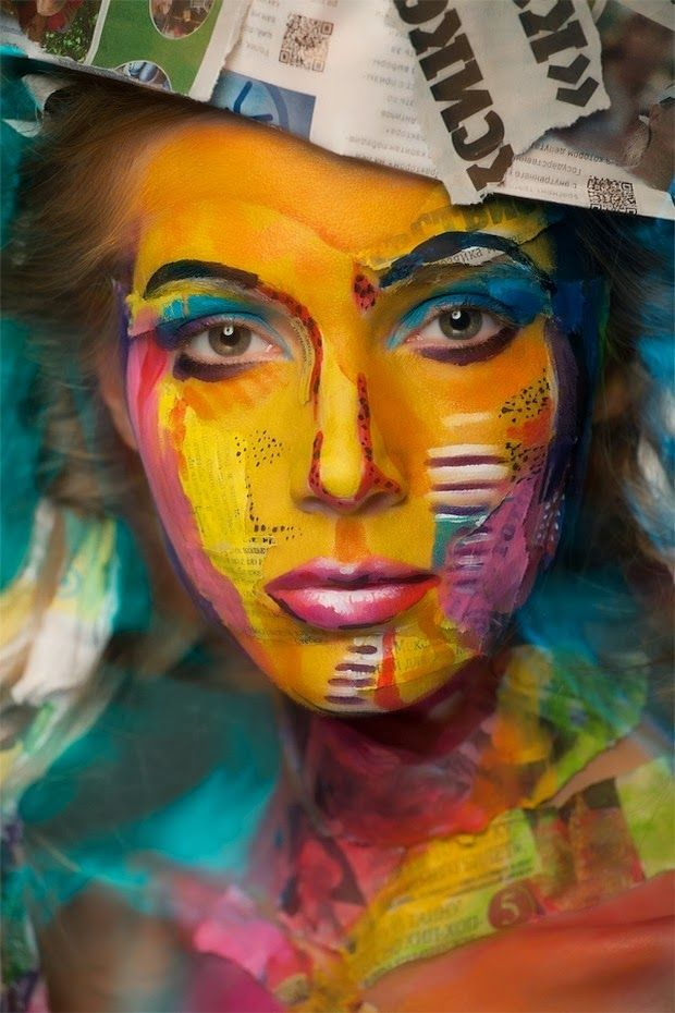 Moscow-based photographer and artist Alexander Khokhlov is at it again, creating stunning and unforgettable portraits of models with painted faces. Description from pinterest.com. I searched for this on bing.com/images