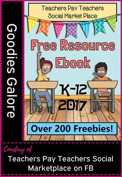 This free download is our featured page from the Best of Teachers Pay Teachers Marketplace Social Group eBook. Our page contains link to our featured 3 freebies. We would greatly appreciate any positive feedback if you download our featured items.