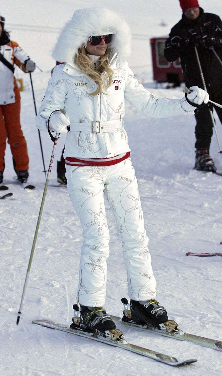 Would be a cute ski outfit if it came in a kid's size.