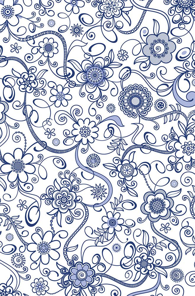 Floral01 - detail - Angela Bax www.obbligato.co.za/tableware.htm