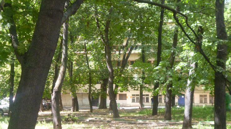 Narkomfin Building, Moscow, Moisei Ginzburg, 1929