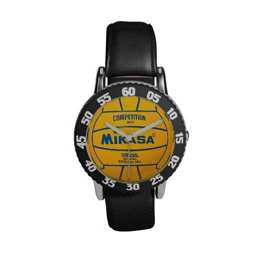 Kid's Adjustable Bezel Water Polo Watch #Watch #Sports #WaterPolo