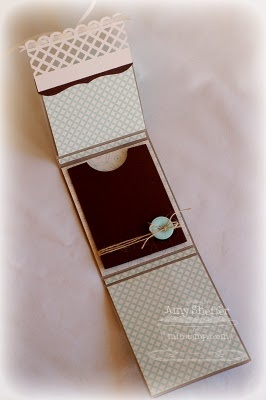 Great trifold gift card holder by Pickled Paper Designs