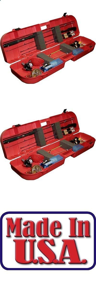 Ice Fishing Rods 179947: Ice Fishing Rod Box Case Fish Tackle Lure Tip Ups 8 Rods Lockable Carry Storage -> BUY IT NOW ONLY: $48.08 on eBay!