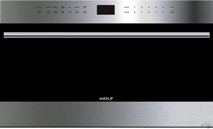 """Wolf E Series 24"""" Built-in Transitional Microwave Oven"""